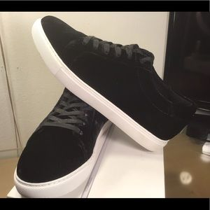 KENNETH COLE | NEW YORK KAM BLACK FASHION SNEAKERS